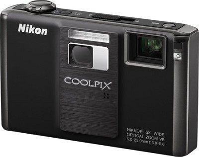 COOLPIX S1000pj Digital Camera w/ Projector (Matte Black)