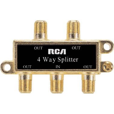 VH49N Signal 4 Way Splitter