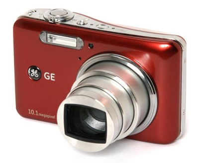 A1050 10.1MP 2.5` LCD 5x Zoom Digital Camera (Red)
