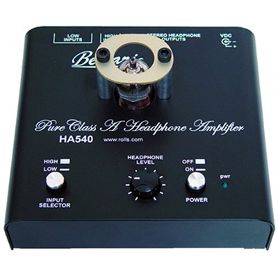 HA540 Pure Class A Stereo Headphone Amplifier
