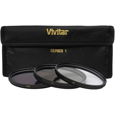 82mm UV, Polarizer & FLD Deluxe Filter kit (set of 3 + carrying case)
