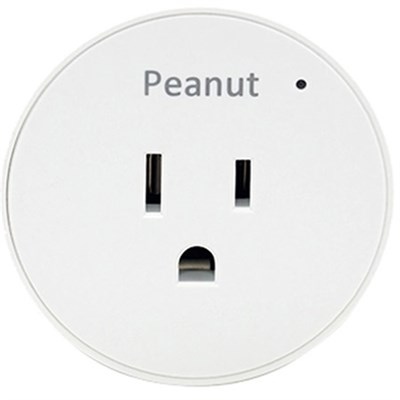 Smart Peanut Plug for Android and iOS - PP-WHT-US