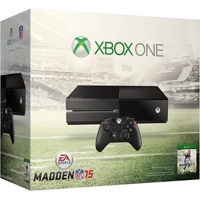 Xbox One Bundle w Madden 15