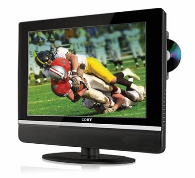 19 ` TFT LCD (16:9 Mode) TV with Side Loading DVD Player (ATSC/NTSC)