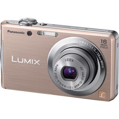 Lumix DMC-FH5 16MP Gold Compact Digital Camera w/ 720p HD Video