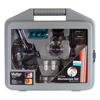 VIV-MIC-2 300/600X/1200X Microscope Binoculars In Hard Case