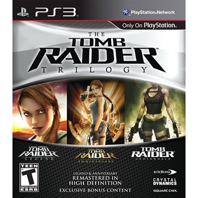 Tomb Raider Trilogy for Playstation 3