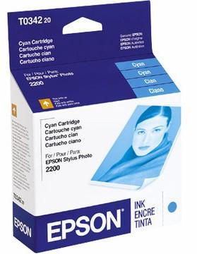 Cyan Ink Cartridge for Stylus 2200 Printer