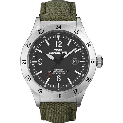 Expedition Military Field Green Nylon Strap Watch - T49880