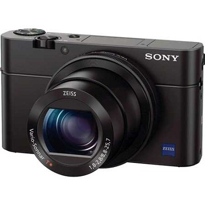Cyber-shot DSC-RX100 III 20.2 MP Digital Camera - Black - OPEN BOX