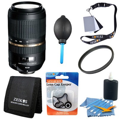 AF 70-300mm f/4.0-5.6 SP Di VC USD XLD Lens Kit for Canon EOS