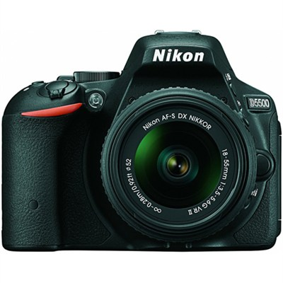 D5500 24.2MP DX-format DSLR Camera with 18-55mm VR II Lens Refurbished