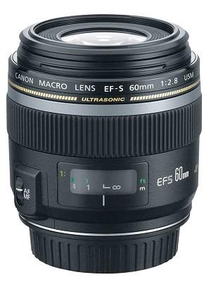 EF-S 60mm f/2.8 Macro USM Lens for Canon SLR Cameras