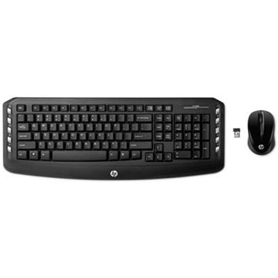 Wireless Classic Desktop Keyboard & Mouse (LV290AA#ABA) - OPEN BOX