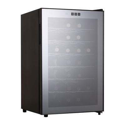 28-Bottel Thermoelec Wine Cooler in Black - MCWC28B