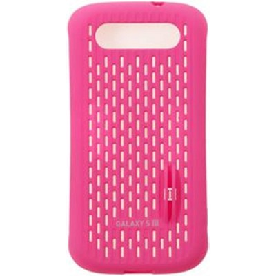 Galaxy S III Coin Stand Case - Pink