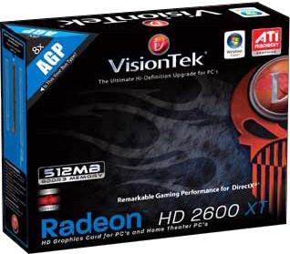 RADEON HD2600XT AGP 512MB 2PORT DVI-I TV/HDTV OUT