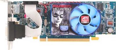HD4650 PCIE 512MB DDR2 DVI-I /HDMI 128BIT LOW PROFILE