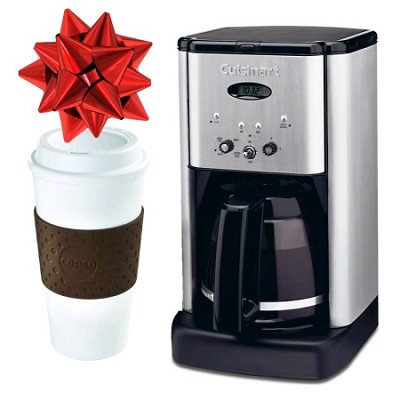 Cuisinart Refurbished 12-Cup Coffeemaker with Copco Eco-First To-Go Cup
