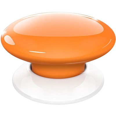 FGPB-101-8 US The Button, Z-Wave Scene Controller, Orange