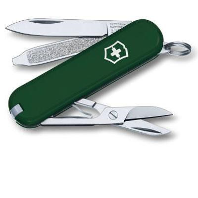 Swiss Army Classic SD Pocket Knife in Green - 53024