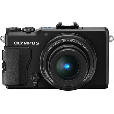Stylus XZ-2 iHS 12MP Digital Camera w/ f1.8 Lens (Black)