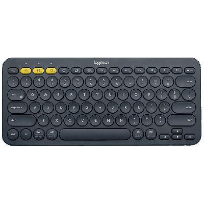 K380 Bluetooth Keyboard in Dark Grey - 920-007558 - OPEN BOX