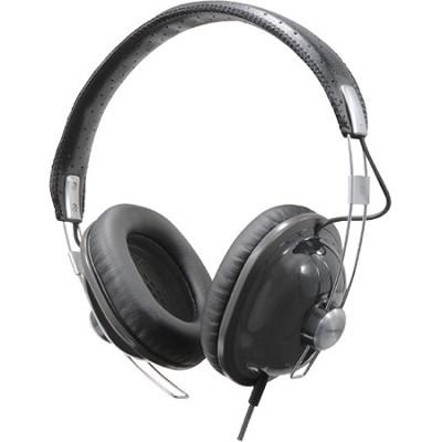 RP-HTX7-K1 Retro Style Monitor Headphones (Black)