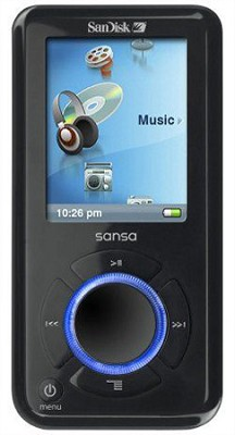 Sansa e260 4GB MP3 Player - Black