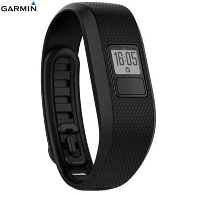 Vivofit 3 Activity Tracker Fitness Band Regular Fit Black- Certified Refurbished