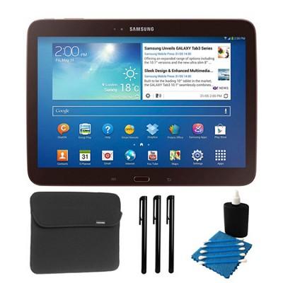 Galaxy Tab 3 (10.1-Inch, Gold-Brown) Essentials Bundle