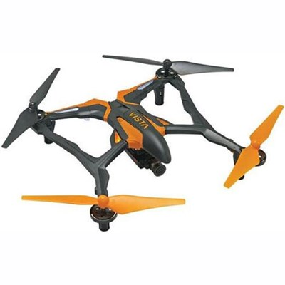 Vista FPV UAV Quadcopter RTF Drone for Smartphones Live Stream HD Cam (Orange)