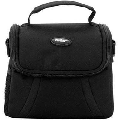 Compact Deluxe Gadget Bag for Cameras/Camcorders (DC-39)