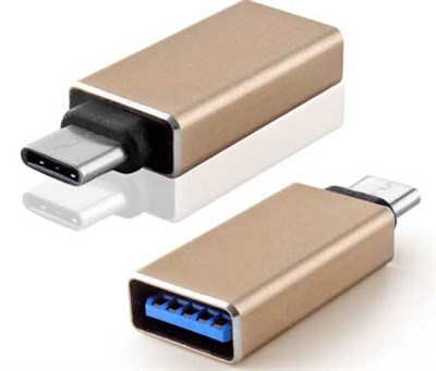 Type C (USB-C) Male to USB 3.0 A Female Adapter