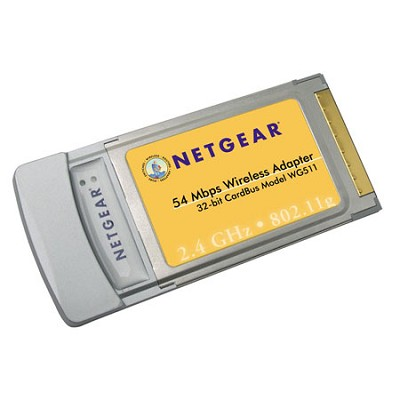 WG511NA Wireless G Pc Card