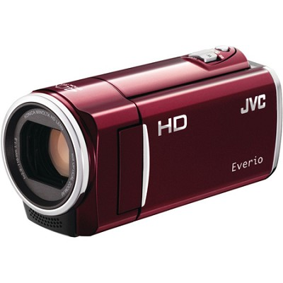 GZ-HM30US Flash Memory Camcorder - Red - Refurbished With 90 Day Warranty