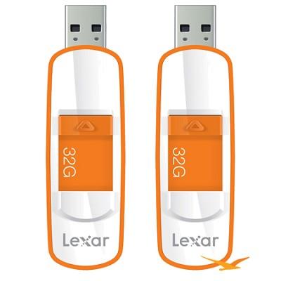 32GB JumpDrive USB 3.0 Flash Drive Two Pack