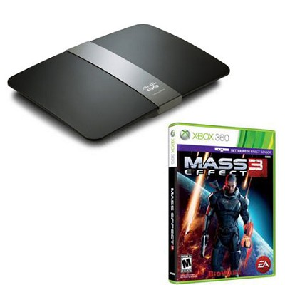 E4200 Maximum Performance Dual-Band N Router with Mass Effect 3 for XBox 360