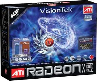 ATI RADEON X1300 256MB DDR2 AGP VGA DVI TV-OUT HDTV 250W REQ