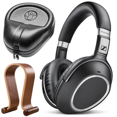 PXC 550 Wireless Noise Cancellation Bluetooth Headphone Bundle w/ Case and Stand