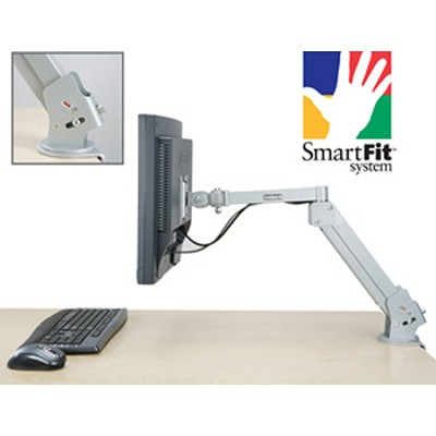 K60099US - Premium Gas LCD Monitor Arm with SmartFit System