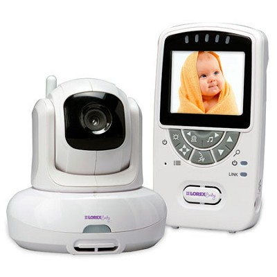 Sweet Peep Baby Video Monitor with Pan Tilt Zoom and Room Temperature Alerts