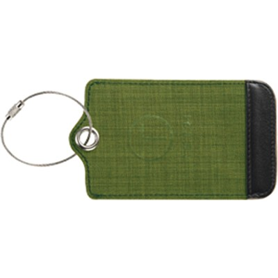 T-Tech Mesh Window Luggage Tag, Green