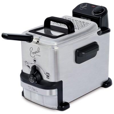 Emeril by T-fal 1.8 Liter Deep Fryer w/ Integrated Oil Filter System - FR702D001