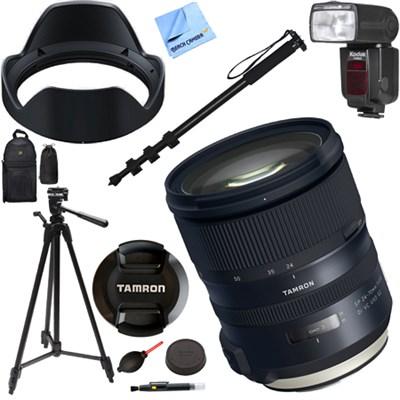 SP 24-70mm f/2.8 Di VC USD G2 Lens for Canon Mount (AFA032C-700) Kit