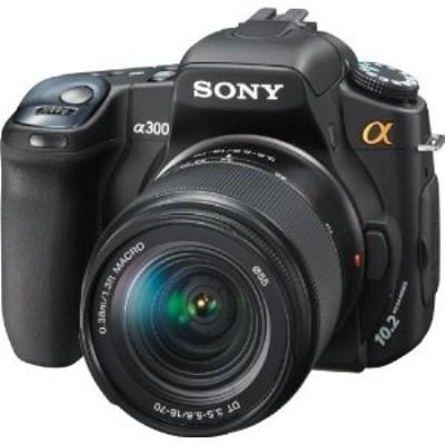 Alpha DSLR-A300K 10.2 MP Camera Kit with 18-70mm Lens - REFURBISHED