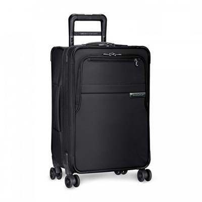 Baseline 22` Domestic Carry-On Expandable Luggage Spinner (Black) U122CXSP-4