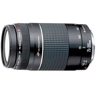 EF 75-300mm F/4-5.6 USM III Lens - REFURBISHED