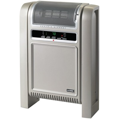 Cyclonic Ceramic Heater with Electronic Control & Built-in Thermostat - OPEN BOX