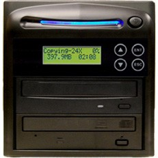1 Target CD DVD Duplicator 20X - Stand Alone Disc - Multiple Burner Copy Tower